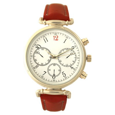 Olivia Pratt Womens Red Strap Watch-16557