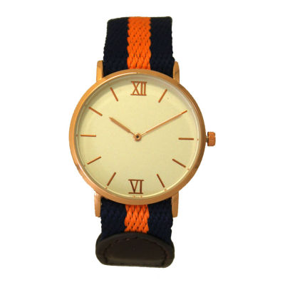Olivia Pratt Womens Orange Strap Watch-60001