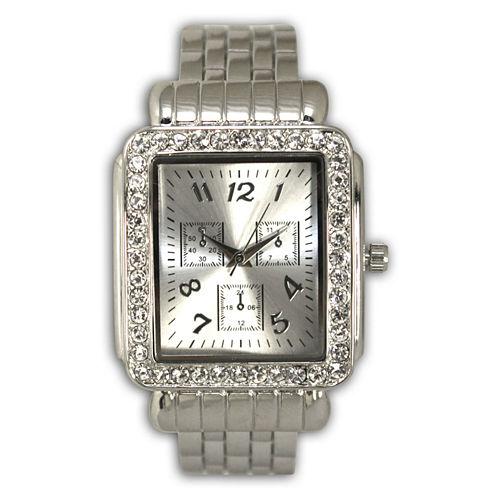 Olivia Pratt Womens Silver Tone Bangle Watch-16645