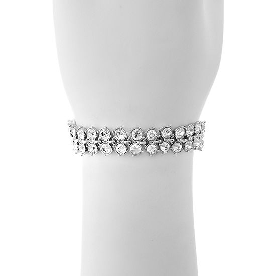 Monet Jewelry The Bridal Collection Silver Tone Chain Bracelet