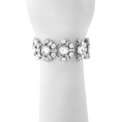 Monet Jewelry Womens Crystal Bracelet