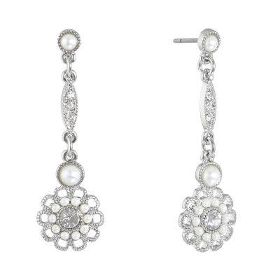 Liz Claiborne The Bridal Collection Drop Earrings