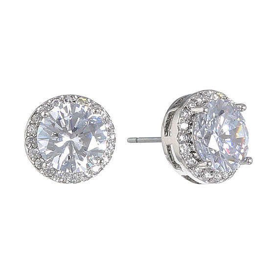 Monet Jewelry The Bridal Collection 10mm Stud Earrings