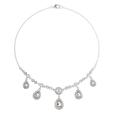 Monet Jewelry The Bridal Collection Womens Collar Necklace