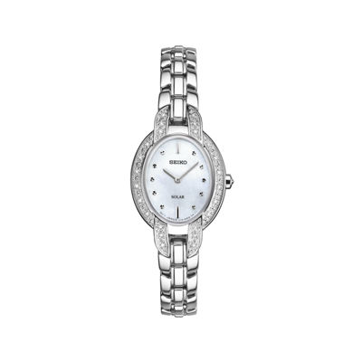 Seiko Ladies Silver Tone Bracelet Watch-Sup323