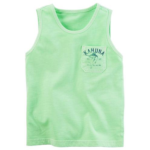 Carter's Sleeveless Crew Neck T-Shirt-Preschool Boys