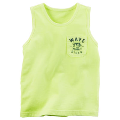Carter's Sleeveless Crew Neck T-Shirt-Preschool Boys