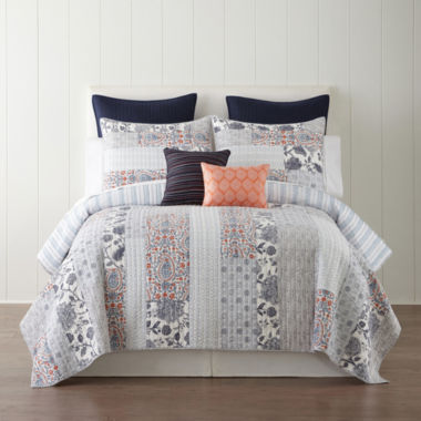 jcpenney.com | JCPenney Home Denton Quilt & Accessories