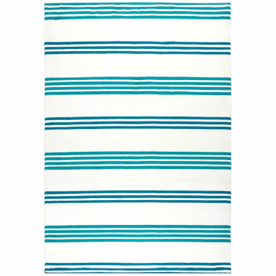 Rizzy Home Glendale Stripe Rectangular Rugs