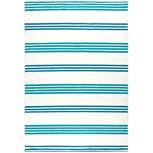 Rizzy Home Glendale Stripe Rectangular Rugs