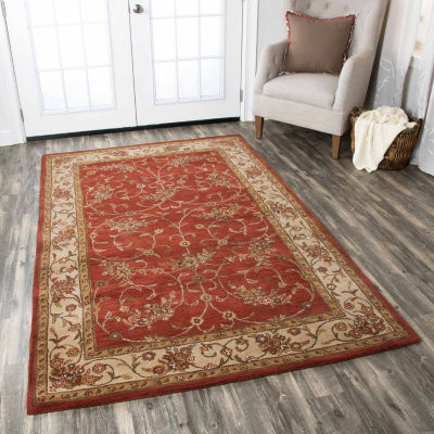 Rizzy Home Craft Border Rectangular Rugs