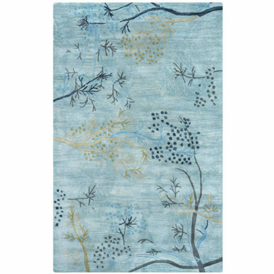 Rizzy Home Craft Floral Rectangular Indoor Rugs
