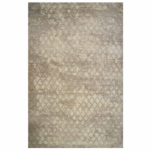 La Rugs Tibet Geometric Iii Rectangular Runner