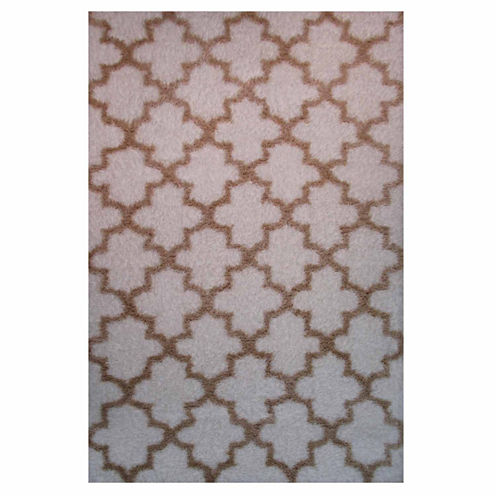 La Rugs Touch Pattern Shag Rectangular Runner