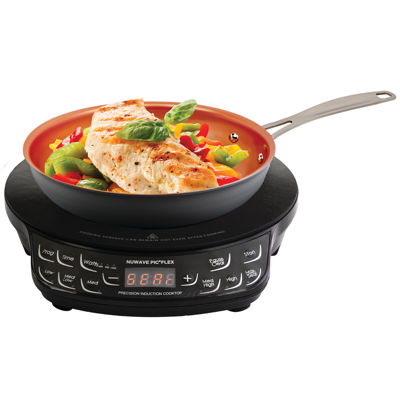 """NuWave 30532 PIC Flex Precision Induction Cooktop with 9"""" Fry Pan"""