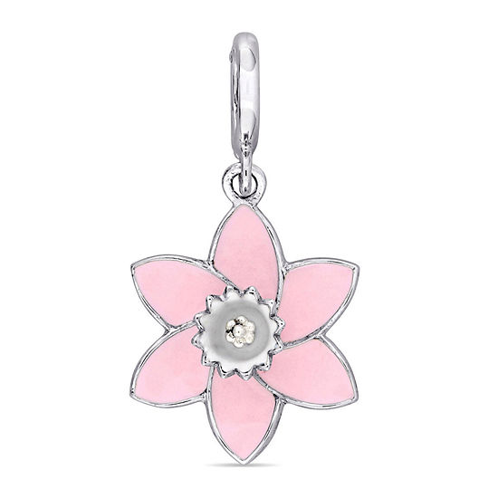 Laura Ashley Flower Collection Charm