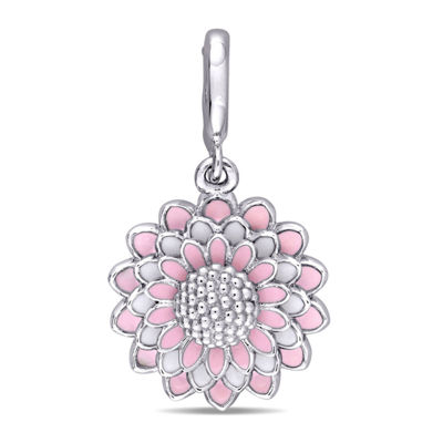 Laura Ashley Flower Collection Sterling Silver Charm