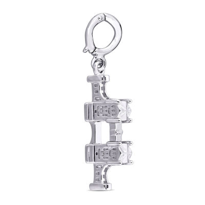 Laura Asley Great Britain Collection Sterling Silver Charm