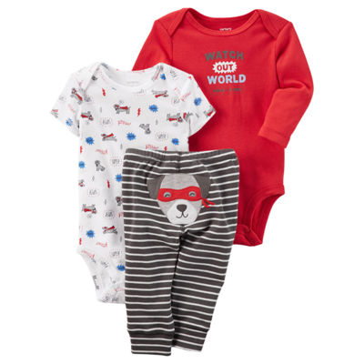Carter's Little Baby Basics 3-pc. Pant Set - Boys