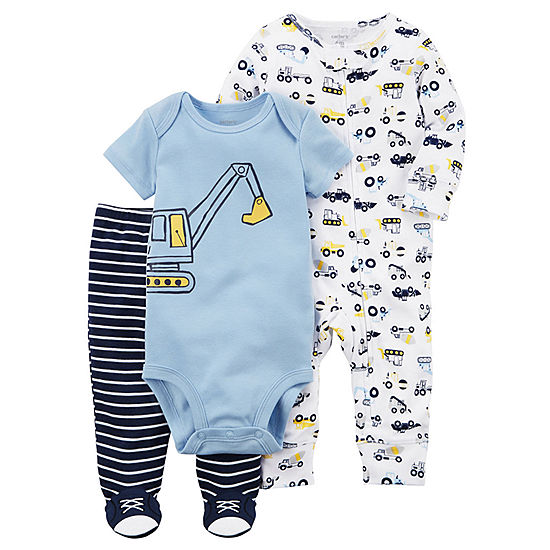 7be652df1 JCPENNEY-Carter's Little Baby Basics 3-pc. P..