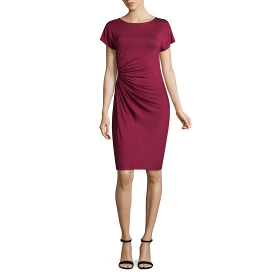 Spense Side Pleated Dress