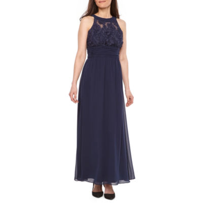 Scarlett Sleeveless Floral Maxi Dress-Petite