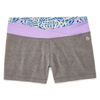 Xersion Wrap Waist Short Girls 4-16 and Plus