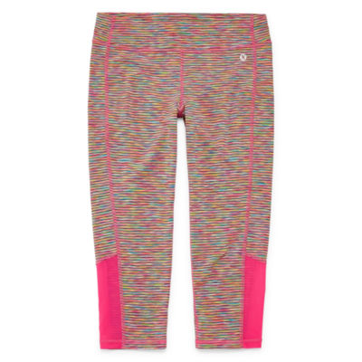 Xersion Mesh Panel Capri Leggings - Girls 4-16 and Plus