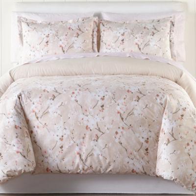 Cherry Blossom 7-pc. Floral Comforter Set