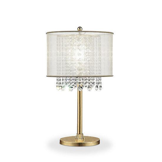 Ore International 30 Bhavya Crystal Table Lamp