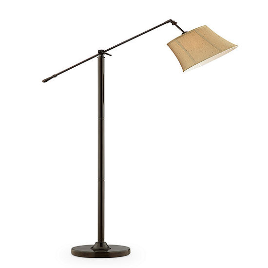 "Ore International 65"" Taylor Ant Bronze Swing Floor Lamp"