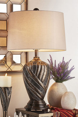 "Ore International 29.75"" Lelei Bronze Table Lamp"