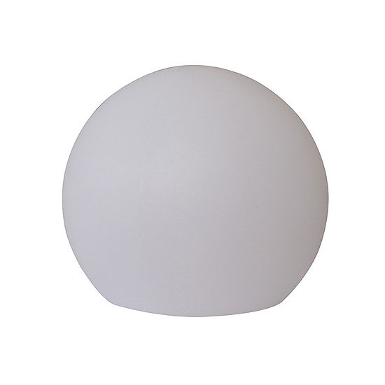 "Ore International 16"" Led Multi-Color Globe Flat Bottom Lamp"