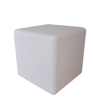 "Ore International 16"" Led Multi-Color Cube Lamp"