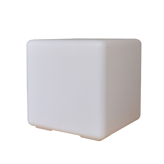 "Ore International 12"" Led Multi-Color Cube Lamp"
