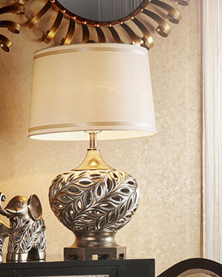 "Ore International 28.75"" Kiara Silver Table Lamp"