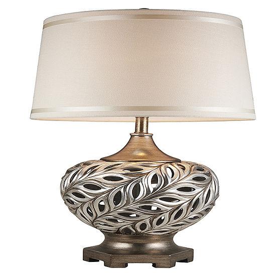 "Ore International 28.75"" Kiara Silver Table Lamp"