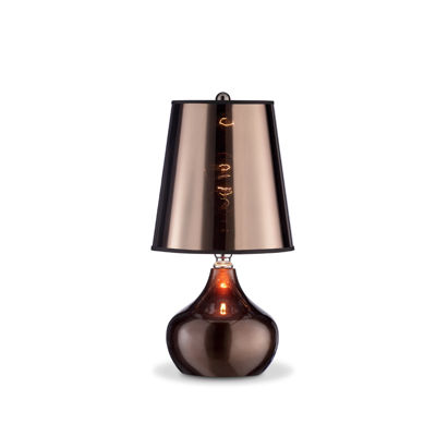 "Ore International 18"" Luster Metallic Table Lamp"