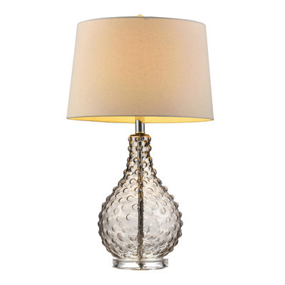"Ore International 27"" Castlerock Glass Table Lamp"""