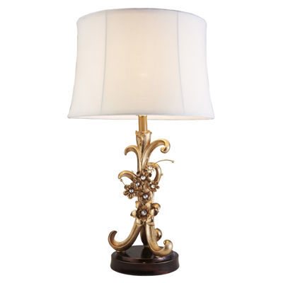 "Ore International 28"" Athena Bronze Table Lamp"