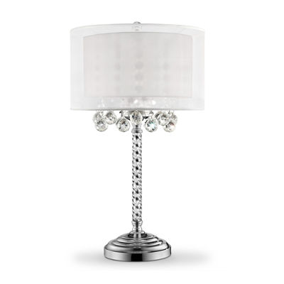 "Ore International 30"" Moiselle Crystal Table Lamp"
