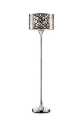 "Ore International 61""H Array Crystal Floor Lamp"