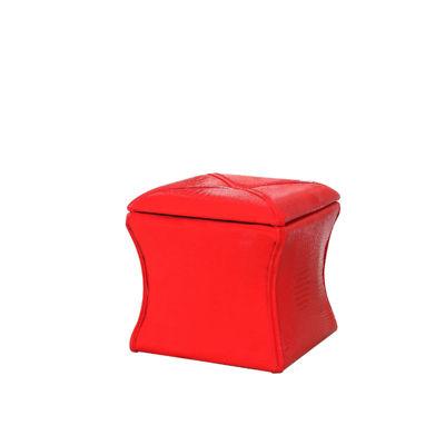 "Ore International 17.5"" Croc Svelte Storage Seating"