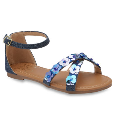 Olivia Miller Mirabelle Girls Strap Sandals - Little Kids/Big Kids