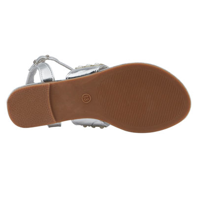 Olivia Miller Brisee Girls Strap Sandals - Little Kids/Big Kids