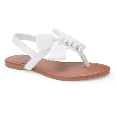 Olivia Miller Lilian Girls Strap Sandals - Little Kids/Big Kids