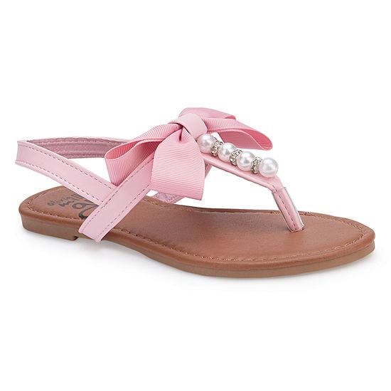 Olivia Miller Lilian Girls Strap Sandals - Little Kids/Big Kids