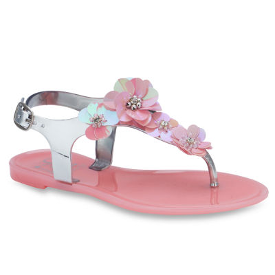 Olivia Miller Ange Girls Strap Sandals - Little Kids/Big Kids