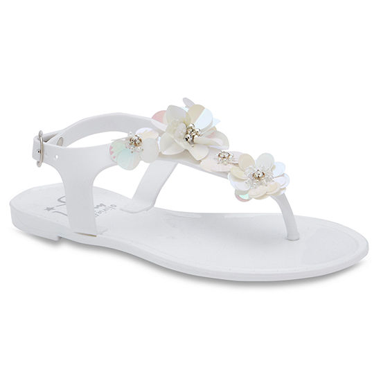 Olivia Miller Ange Girls Strap Sandals - Little Kids/Big Kids