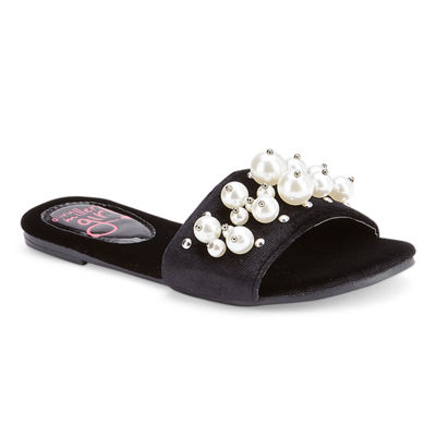 Olivia Miller Fraisier Girls Slide Sandals - Little Kids/Big Kids